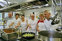 Cooking lessons at Lanersbacher Hof