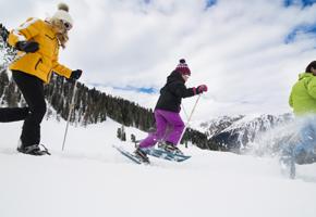 Schneeschuhwandern in Tux