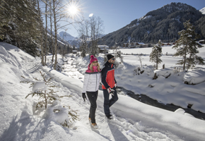 Winterwandern im Tuxertal