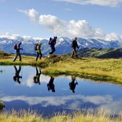 Wanderung am See in Tux-Finkenberg