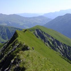 Gipfelwanderung im Zillertal