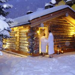 Sauna im Lanersbacher Hof in Tux