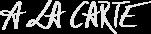 À la Carte Logo
